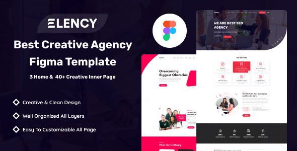 [Free Download] Elency – Corporate Business Figma Template (Nulled) [Latest Version]