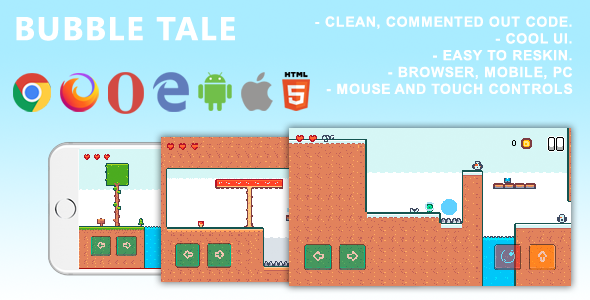 [Free Download] Bubble Tale. Mobile, Html5 Game .c3p (Construct 3) (Nulled) [Latest Version]