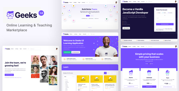 [Free Download] Geeks – Online Learning Marketplace WordPress Theme (Nulled) [Latest Version]