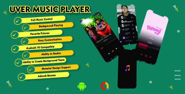 [Free Download] UverMusic Player| AudioMack Clone |Best Music Player with Possible admob Integration (Nulled) [Latest Version]