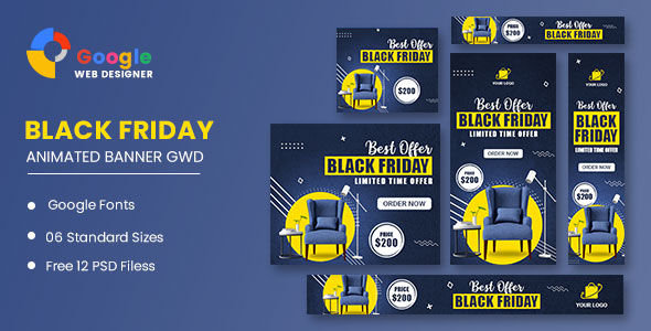 [Free Download] Black Friday Sale Banner HTML5 Banner Ads GWD (Nulled) [Latest Version]