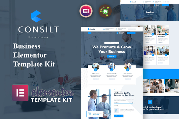 [Free Download] Consilt – Business & Consulting Elementor Template Kit (Nulled) [Latest Version]