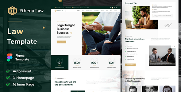 [Free Download] Ethena – Law Agency Figma Template (Nulled) [Latest Version]