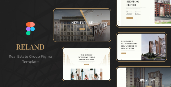 [Free Download] Reland – Real Estate Group Figma Template (Nulled) [Latest Version]