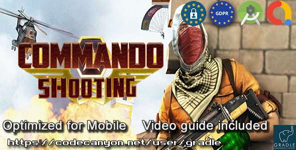 [Free Download] Commando Shooting (Admob + GDPR + Android Studio) (Nulled) [Latest Version]