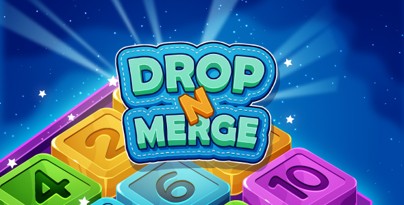[Free Download] Drop N Merge – HTML5 Puzzle Game (Phaser 3) (Nulled) [Latest Version]