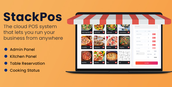 [Free Download] StackPos – Point Of Sale Script for Restaurants (Nulled) [Latest Version]