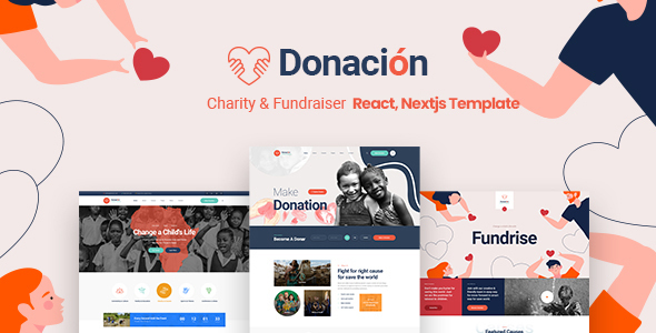 [Free Download] Donacion – Fundraising & Charity React, Nextjs Template (Nulled) [Latest Version]