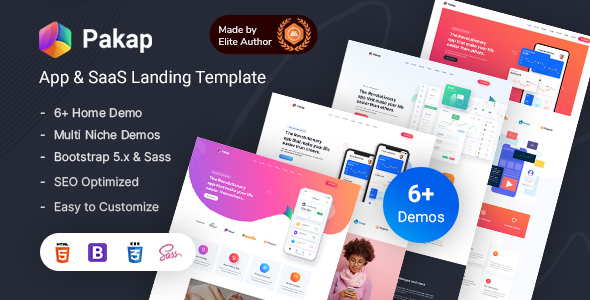 [Free Download] Pakap – App & SaaS Software Landing Page HTML Template (Nulled) [Latest Version]