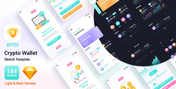 [Free Download] Bitex – Crypto Wallet Sketch Template (Nulled) [Latest Version]