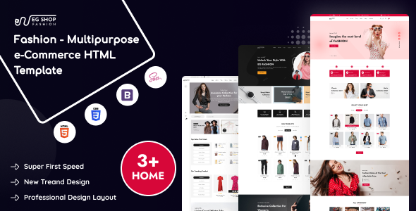 [Free Download] EG Shop Fashion – Multipurpose eCommerce HTML Template (Nulled) [Latest Version]