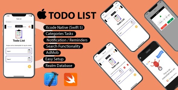 [Free Download] ToDo List IOS – App (Nulled) [Latest Version]