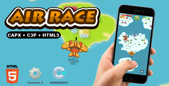 [Free Download] Air Race – CAPX I C3P I HTML5 Game (Nulled) [Latest Version]