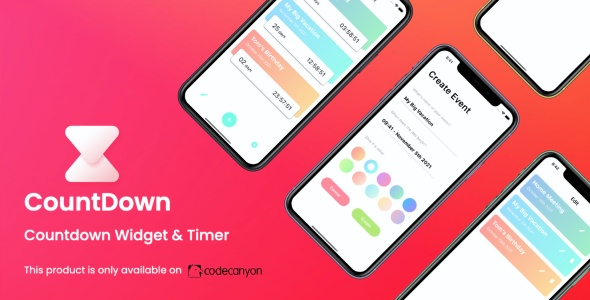 [Free Download] CountDown App (iOS)   Countdown Widget & Timer (Nulled) [Latest Version]