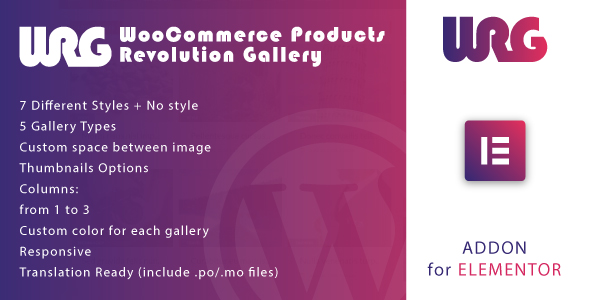 [Free Download] Woocommerce Products Revolution Gallery for Elementor WordPress Plugin (Nulled) [Latest Version]