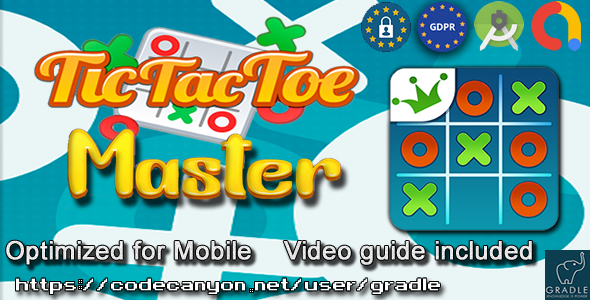 [Free Download] Tic Tac Toe Master (Admob + GDPR + Android Studio) (Nulled) [Latest Version]