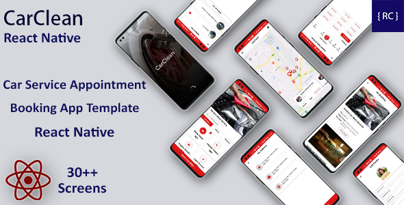 [Free Download] Car Service Appointment Booking Android App Template + iOS App Template | React Native | CarClean (Nulled) [Latest Version]