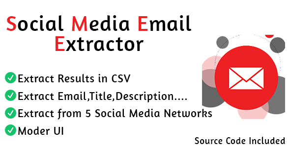 [Free Download] Social Media Email Extractor Pro (Nulled) [Latest Version]