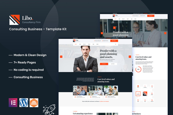 [Free Download] Libo – Consulting Business Elementor Template Kit (Nulled) [Latest Version]