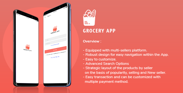 [Free Download] Grocery Application Template for User in iOS (Nulled) [Latest Version]