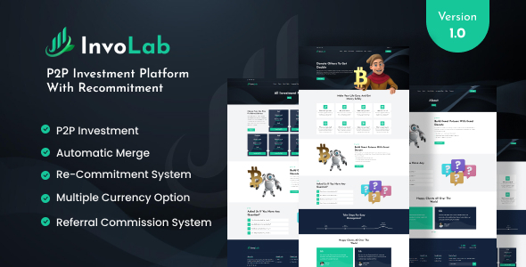 [Free Download] InvoLab – P2P Investment Platform With Recommitment (Nulled) [Latest Version]