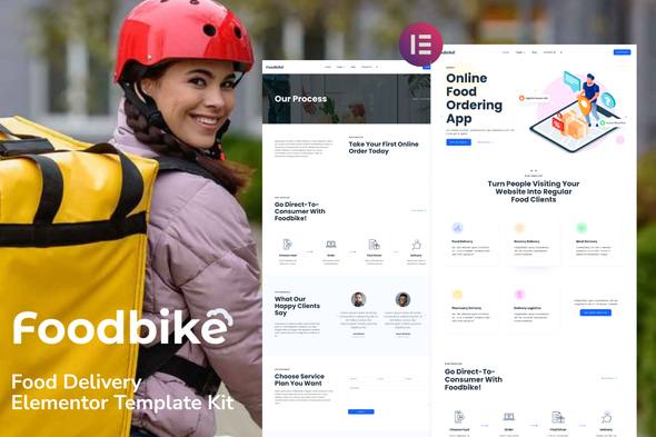 [Free Download] Foodbike – Food Delivery Elementor Template Kit (Nulled) [Latest Version]
