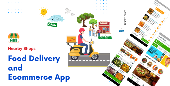 [Free Download] Nearby Shops Food Delivery and Ecommerce App (Nulled) [Latest Version]