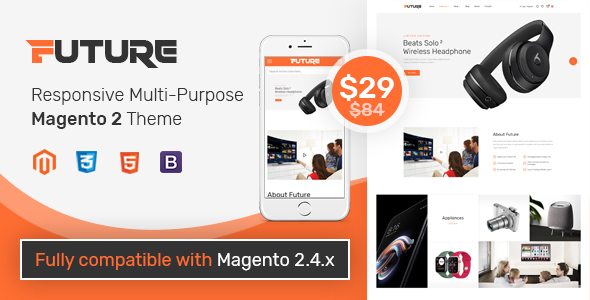 [Free Download] SM Future – Bright and Clean Magento 2 Theme for Trending Technology Stores (Nulled) [Latest Version]