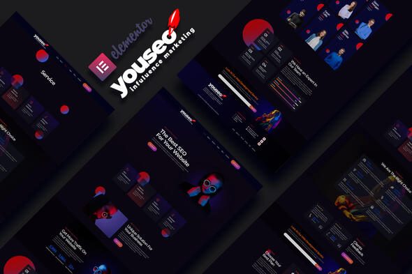 [Free Download] Youseo – SEO & Digital Creative Agency Elementor Template Kit (Nulled) [Latest Version]