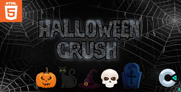 [Free Download] Halloween Crush – HTML5 – Casual Game (Nulled) [Latest Version]