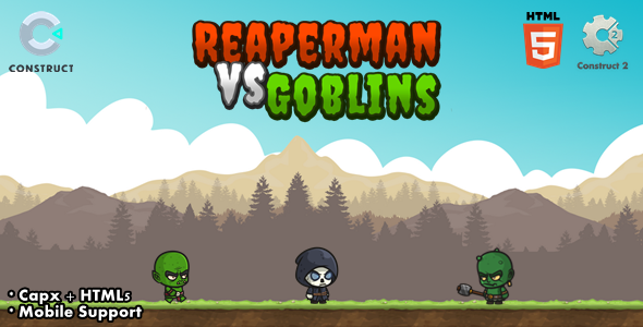[Free Download] Reaperman vs Goblins – CAPX I C3P I HTML5 Game (Nulled) [Latest Version]