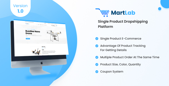 [Free Download] MartLab – Single Product Dropshipping Platform (Nulled) [Latest Version]