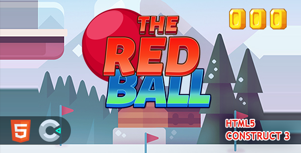 [Free Download] Red Ball Brick Breaker HTML5 Construct 3 Game (Nulled) [Latest Version]