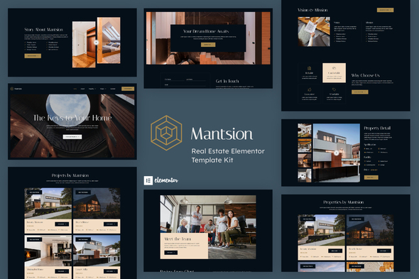 [Free Download] Mantsion – Real Estate Elementor Template Kit (Nulled) [Latest Version]