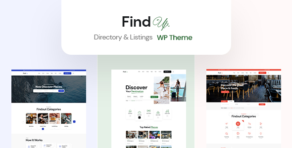 [Free Download] Findup – Directory & Listing WordPress Theme (Nulled) [Latest Version]