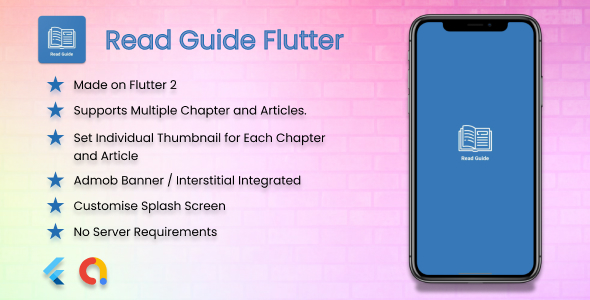[Free Download] Read Guide Flutter – How to Guide for Tips and Tricks, Applications and Games – Admob, No Server (Nulled) [Latest Version]