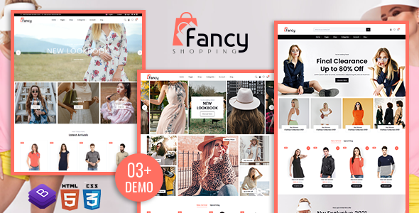 [Free Download] Fancy Shopping E-commerce HTML Template (Nulled) [Latest Version]