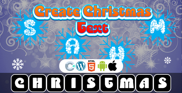 [Free Download] Create The Christmas Text Game (Construct 3   C3P   HTML5) Christmas Game (Nulled) [Latest Version]