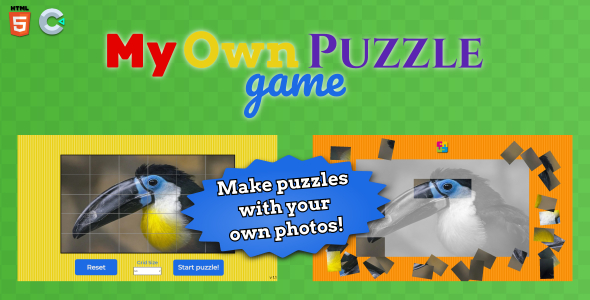 [Free Download] My own puzzle – HTML5 Puzzle Game (Nulled) [Latest Version]