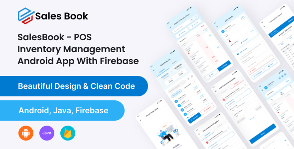 [Free Download] SalesBook – POS Inventory Management android app With Firebase Database (Nulled) [Latest Version]