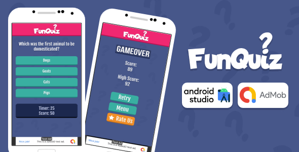 [Free Download] Fun Quiz Game Android Studio Project with AdMob Ads + Ready to Publish (Nulled) [Latest Version]