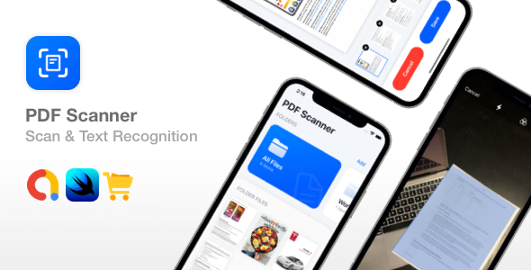 [Free Download] PDF Scanner – SwiftUI Text Recognition Document Scanner (Nulled) [Latest Version]