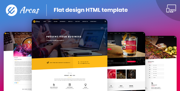[Free Download] Arcas  |  Multipurpose HTML5  Template (Nulled) [Latest Version]