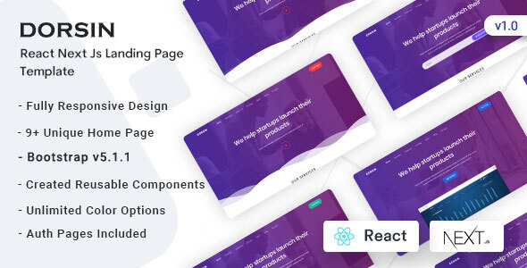 [Free Download] Dorsin – React Next Js Landing Page Template (Nulled) [Latest Version]