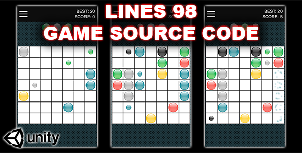 [Free Download] Color Lines 98 – Connect Dots – Unity Game (Nulled) [Latest Version]