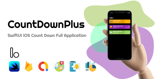 [Free Download] CountDownPlus – SwiftUI iOS Countdown Full Application (Nulled) [Latest Version]