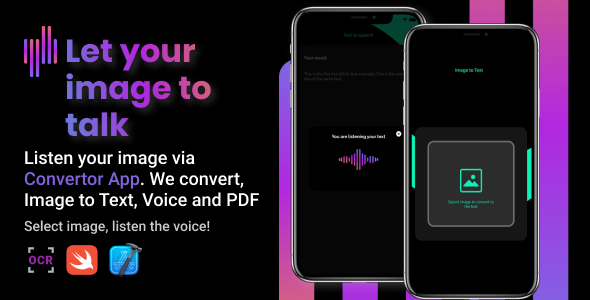 [Free Download] ConvertorApp   iOS Image to Text & Speech and PDF (Nulled) [Latest Version]