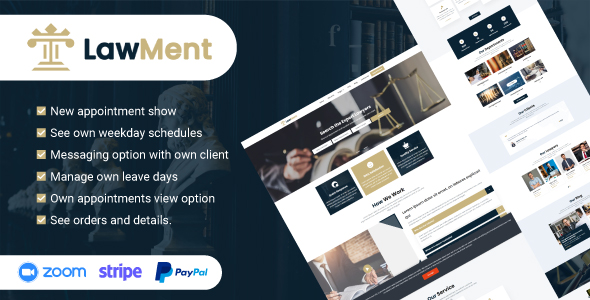 [Free Download] LawMent – SaaS Based Multi Lawyer Appointment System (Nulled) [Latest Version]