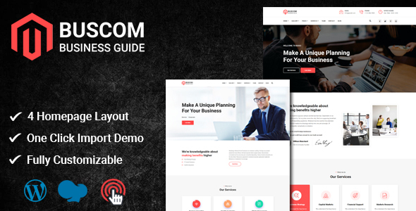 [Free Download] Buscom – Multipurpose Business WordPress Theme (Nulled) [Latest Version]