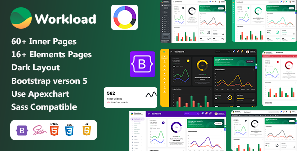 [Free Download] Workload | Project Management Bootstrap 5 Admin Dashboard (Nulled) [Latest Version]
